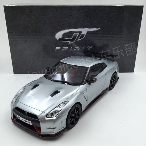 GT Spirit - Nissan GTR 35 Nismo 1/18 Resin Model (Ultimate  Metallic silver) Asia Exclusive Model Limited 500 pcs Asian Special Edition KJ004