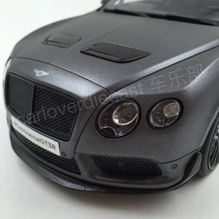 GT Spirit - Bentley Contintenal GT3-R  Scale 1/18 Resin Model (Satin Grey) Asia Exclusive Model Limited 500 pcs available  now (KJ003)Asian Special Edition