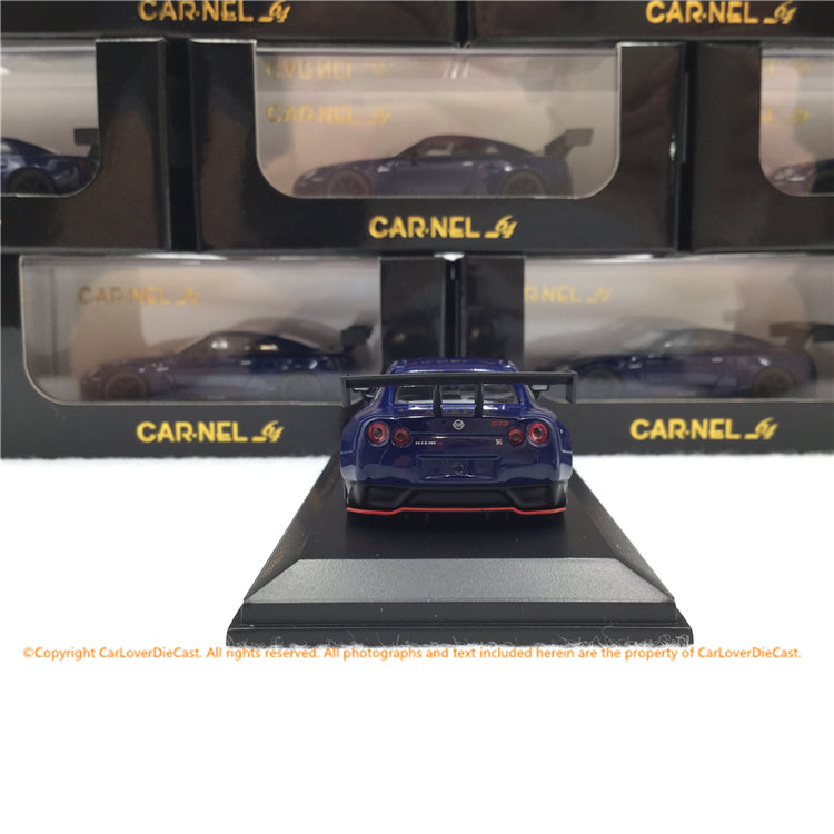 Carnel 1:64 Nissan GT-R NISMO GT3 (R35) 2015 (Metallic Blue)  Limited 999 units (CN640020)  diecast car model