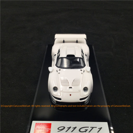 J's Models - Lb Works 650S resin Scale 1:18 (Glossy White) Limited edition 40 pcs leather based