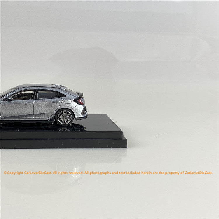 Hobby Japan1/64  Honda CIVIC HB (FK7)改 Silver Metallic  (HJ641018BS) diecast car model available