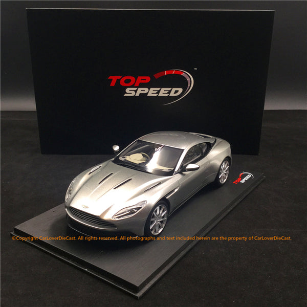 TopSpeed - Aston Martin DB11 (lightning Silver) Resin Scale 1:18 TS0126 available  now