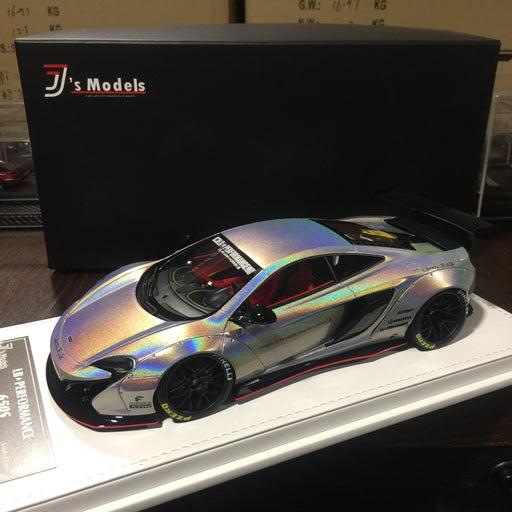J's Models - Lb Works 650S resin Scale 1:18 (White Chameleon leather based) Limited edition 40 available now