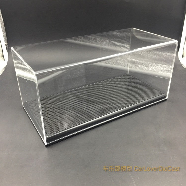 (Display Case) 1:18 real Carbon surface display case
