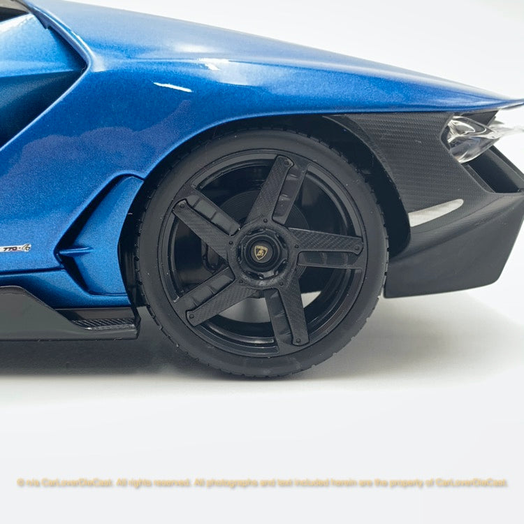 Maisto 1:18 Lamborghini Centenario 10-31386 (Metallic Blue ) diecast car model
