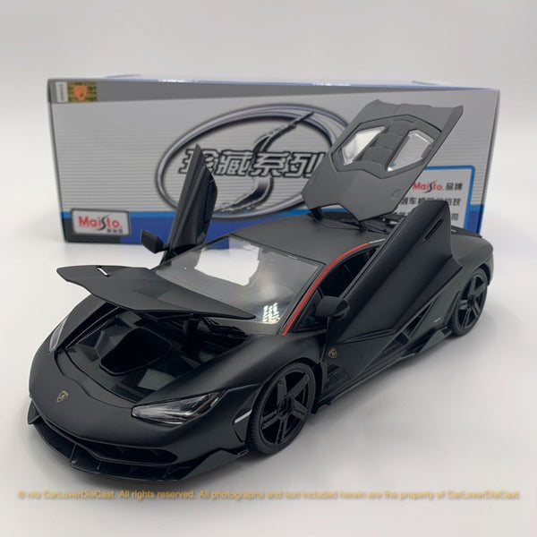 Maisto 1:18 Lamborghini Centenario 10-31386 (Matt Black ) diecast car model