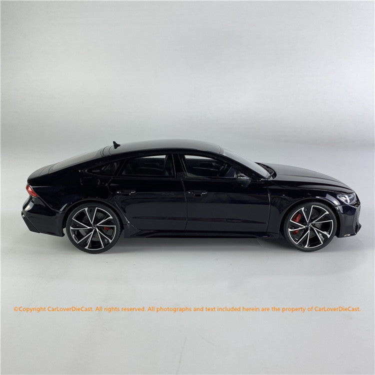 GT Spirit 1:18 Audi RS7 Sportback Mythos Black / Night Package (CLDC011)  Resin car model available on End of July 2021 Pre-order now