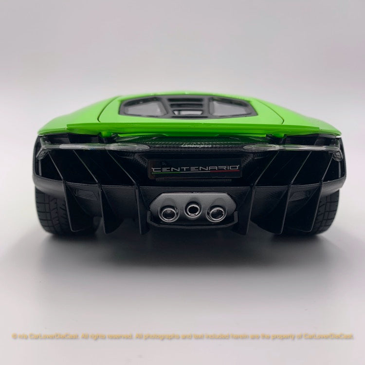 Maisto 1:18 Lamborghini Centenario 10-31386 (light green) diecast car model