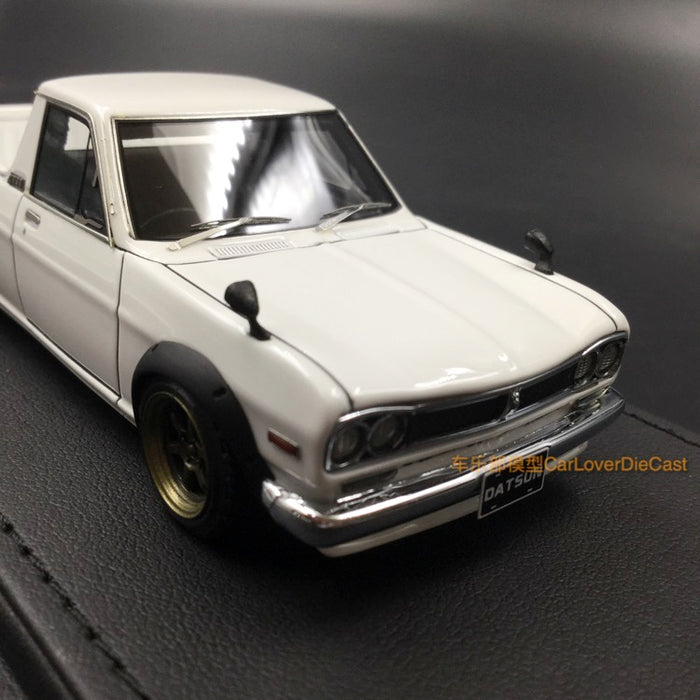 Ignition Model 1:43 Nissan Hakotora Long White (W-Wheel) resin model (IG1507)