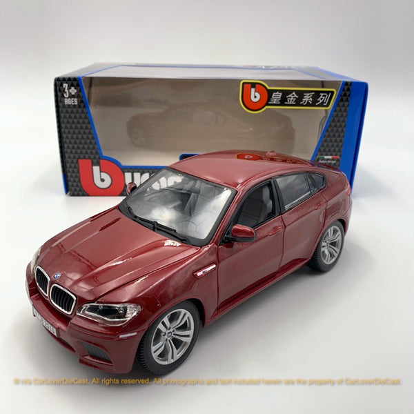 Bbruago 1:18 BMW Assorted 18-12000 Metallic Red diecast car model