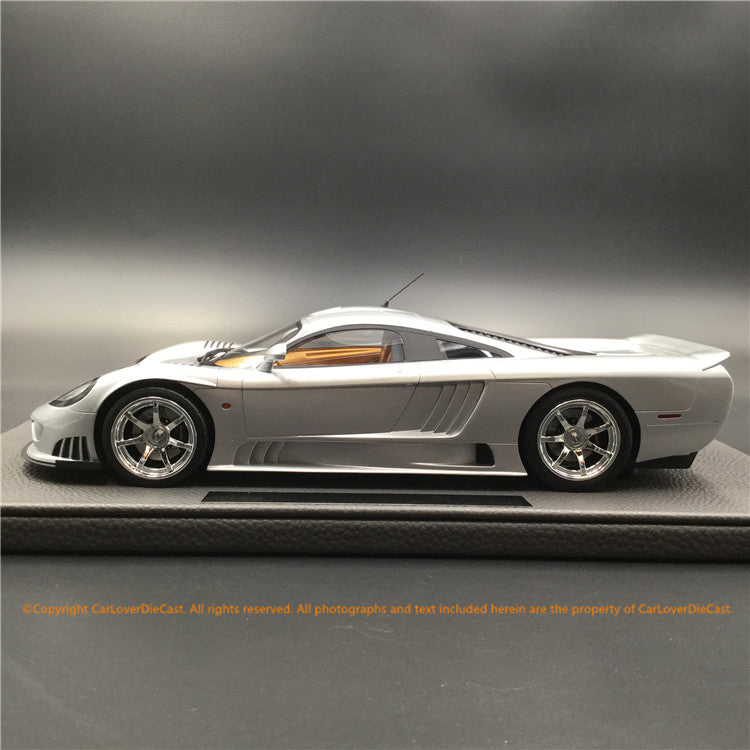 Top Marques - Saleen S7 in Silver resin scale 1:18 (TOP53E) available Now