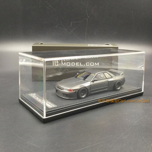 Ignition Model 1:43 Pandem GT-R (BNR32) Gungray Metallic (RB-Wheel) resin model (IG1334)