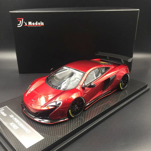 J's Models - Lb Works 650S resin Scale 1:18 (Red Wine with carbon based) Limited edition 10 pcs available now