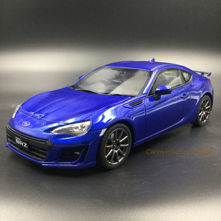 Kyosho Samuari Subaru BRZ resin scale 1:18 Blue (KSR18027BL-B) Limited 400pcs