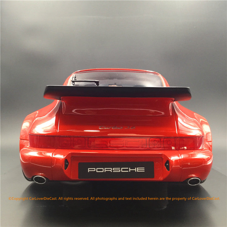 GT Spirit 1:8 Porsche 911 3.6 turbo (resin car model) GTS80012 Orange/Red CLDC exclusive limited 50 pcs available now
