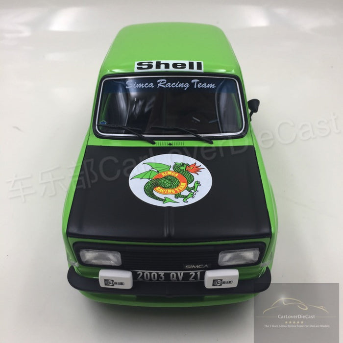 OttO Mobile  Simca Rallye 2 SRT Kit Resin Scale 1/18 Model (OT667) Limited 1000 units