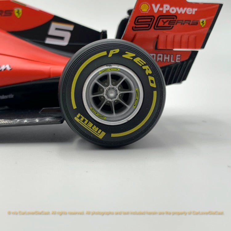 Bbruago 1:18 Ferrari SF90 (#16 Charles Leclerc)(Dull Red) 18-16807(#5)  diecast car model