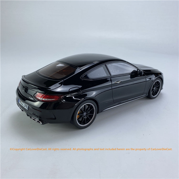 GT Spirit 1:18 Mercedes-AMG C63 S Coupe (W205) OBSIDIAN BLACK  (CLDC005)  Resin car model available on End of MAY 2021 Pre-order now
