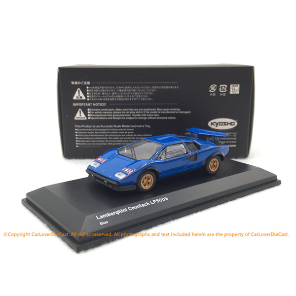 Kyosho 1:64 Lamborghini Countach LP500S (KS06930A1/2) diecast model available now