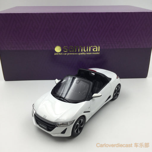 (Kyosho Samurai) Honda S660  resin scale 1:18 (White) KSR18016W-B available now