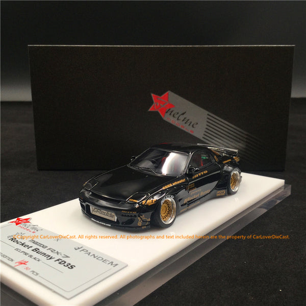 Fuelme 1:43 Rocket Bunny RX-7 FD3S Resin Model (FM43008LM-D) Eclipse Black  available now