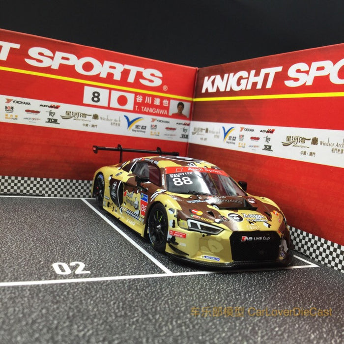 (Zoomer Miniature Models) 1:43 Macau GP Diorama Vang Iek racing team version (ZMMD01701)