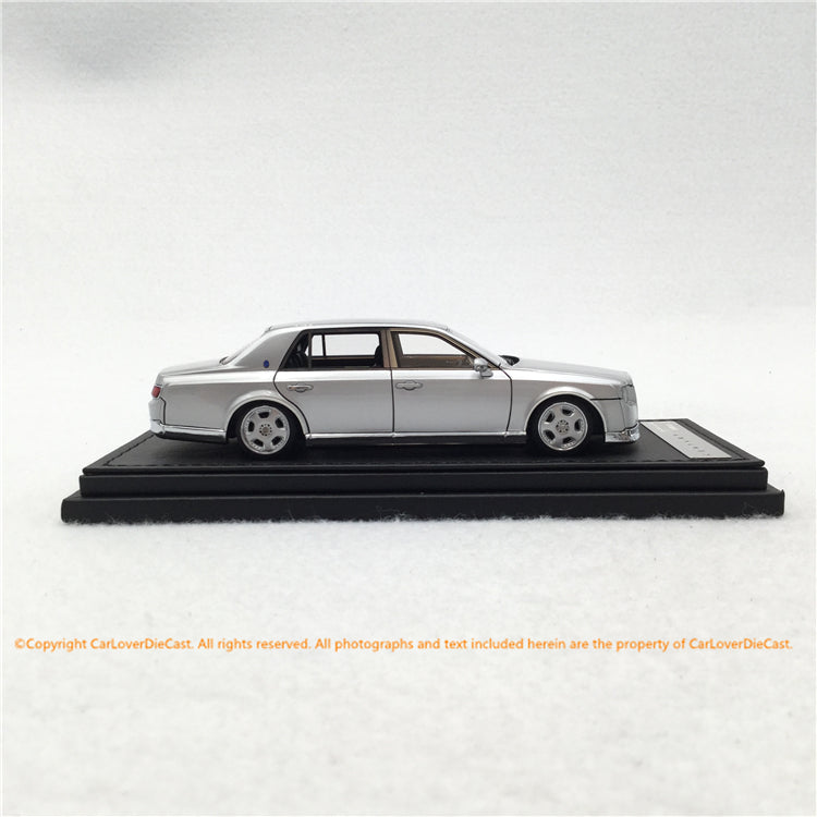ignition Model 1:43 Toyota Century (UWG60) Silver ※OZ-Wheel resin car model  (sealed) IG1730 available now