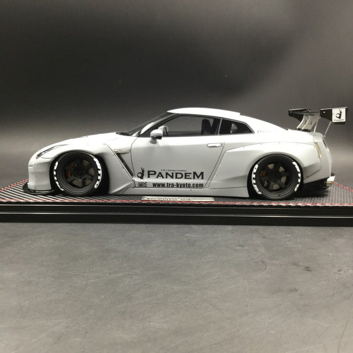 Ignition Model 1 18 Pandem Nissan Gt R 35 Air Force Grey Ig1625 Carloverdiecast Exclusive Edition Limited 100 Pcs Resin Model Available Now