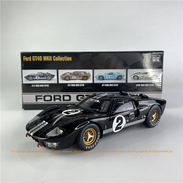ACME 1:18  Ford  #2  GT40 MKII from 1966 Le Mans 24 Hours ALL-OPENED (SC-408) diecast car model