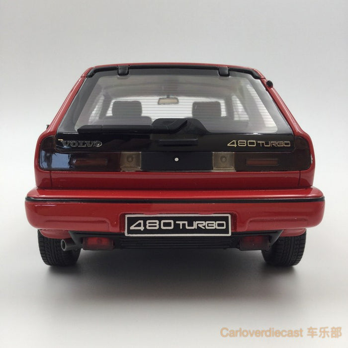 (OTTO Mobile) Volvo 480 Turbo  Resin Scale 1/18 Model (OT228) Limited 2000 units available  now