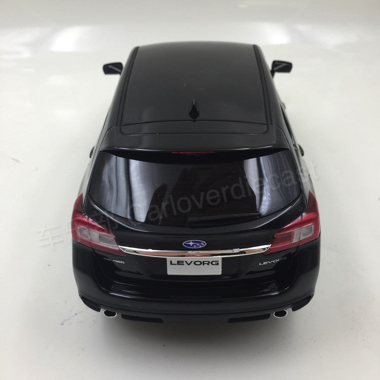 Kyosho samurai - SUBARU LEVORG 1.6GT-S Eyesight 2015 resin scale 1:18 in Black  KSR18015BK