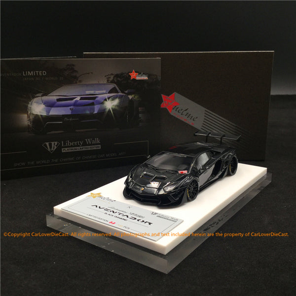 Fuelme 1:43 Liberty Walk Aventador 50th Limited edition (Black Diamond) FM43007-50LE-JN03 resin car model available now