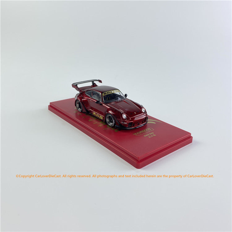 Tarmac Works 1:43 RWB 993  火の鳥 (T43-014-BF) diecast car model available now