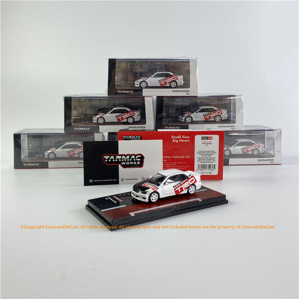 Tarmac Works 1:64 Toyota TRD Altezza (T64R-019-TRD) diecast car model available now