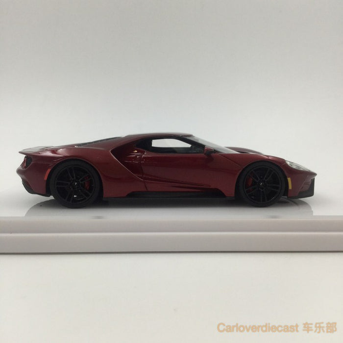 TSM-Model Ford GT Liquid Red Resin Scale 1:43 (TSM430135) Available  now