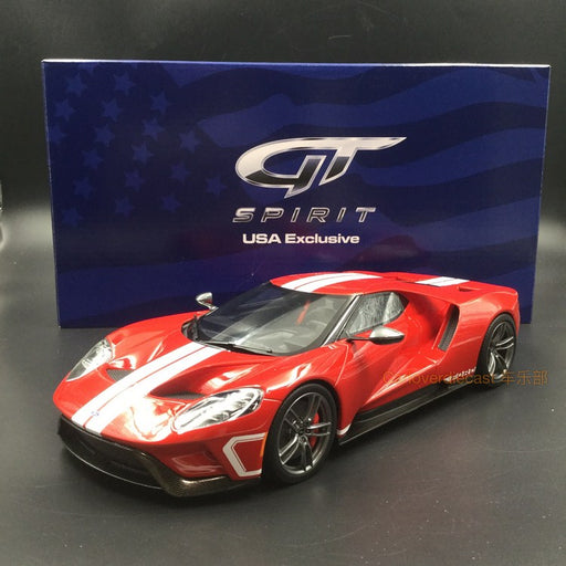 GT Spirit 1:18 Ford GT Heritage resin scale 1:18 American Exclusive edition (US008B)