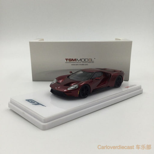 Tsm Model Ford Gt Liquid Red Resin Scale  Tsm Available