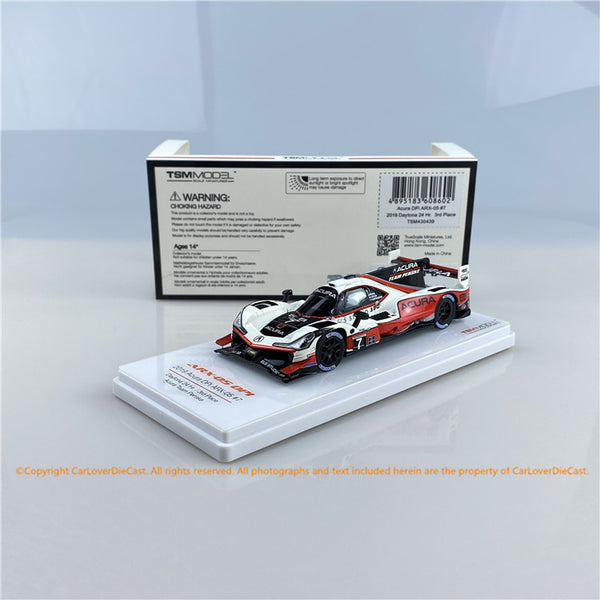 TSM 1:43  Acura DPi ARX-05 #7 Daytona 24-hour race 2019  Team Penske  (TSM430439) Resin car model  available Now