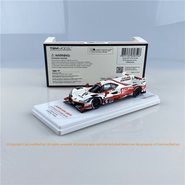 TSM 1:43  Acura DPi ARX-05 #6 Daytona 24-hour race 2019  Team Penske  (TSM430438) Resin car model  available Now