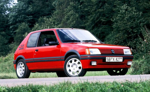 GT Spirit 1/8  PEUGEOT 205 GTI 1.9 Vallelunga red 1991 (GTS800401)  resin car model available on End of JANUARY 2021 Pre-order item