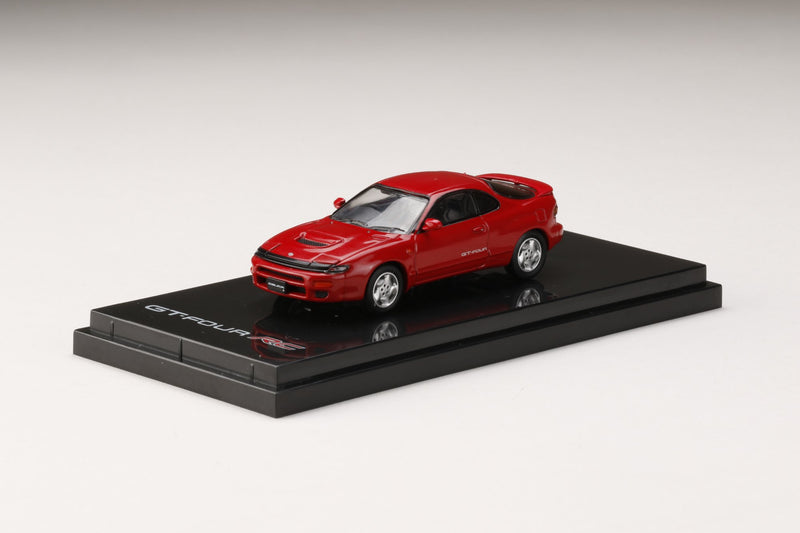 Hobby Japan 1/64 Toyota CELICA GT-FOUR RC ST185 RED (HJ641023AR) diecast car model available on Q1 2021 pre-order now