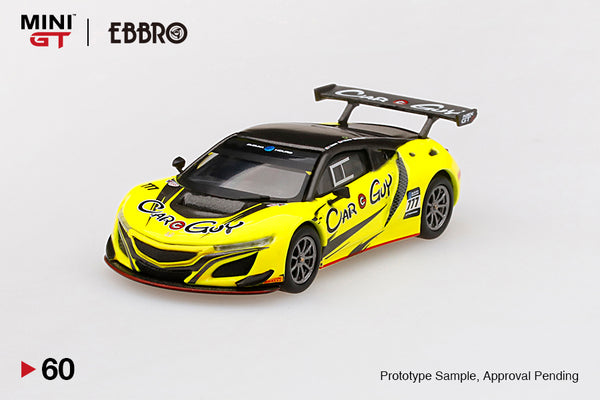1:64 Honda NSX GT3 #777  2018 Suzuka 10 Hr.  Carguy Racing  MINI GT x EBBRO  LHD (MGT00060-L) Pre-Order item End of September 2020