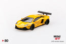 MINI GT 1:64 LB★Works Lamborghini Aventador  Volcano Yellow  (MGT00080)  available on End of Nov 2019 pre-order item