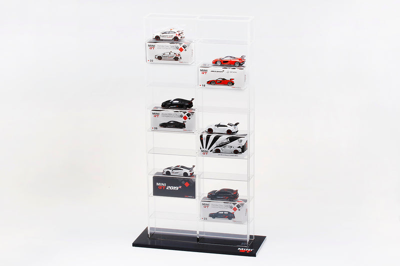 Mini GT 1:64 Acrylic Display case (large size & small size) MGTAC02/03 available on Q3 2019 pre-order item