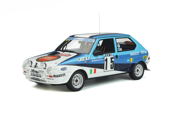 OttO Mobile 1:18 Fiat Ritmo Abarth Gr.2 #15  Rallye Monte-Carlo (OT888) Resin Car Model  Available on End of Feb 2021 pre-order now