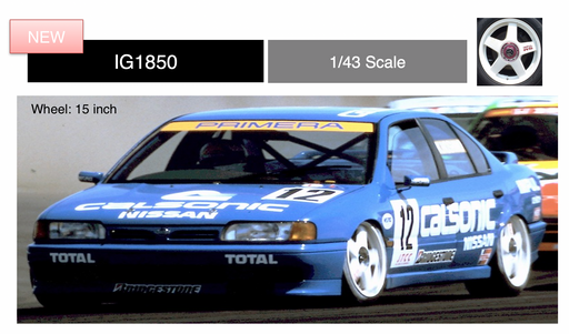 ignition Model 1:43 CALSONIC PRIMERA (#12) 1994 JTCC TOKACHI (IG1850) resin car model available Now