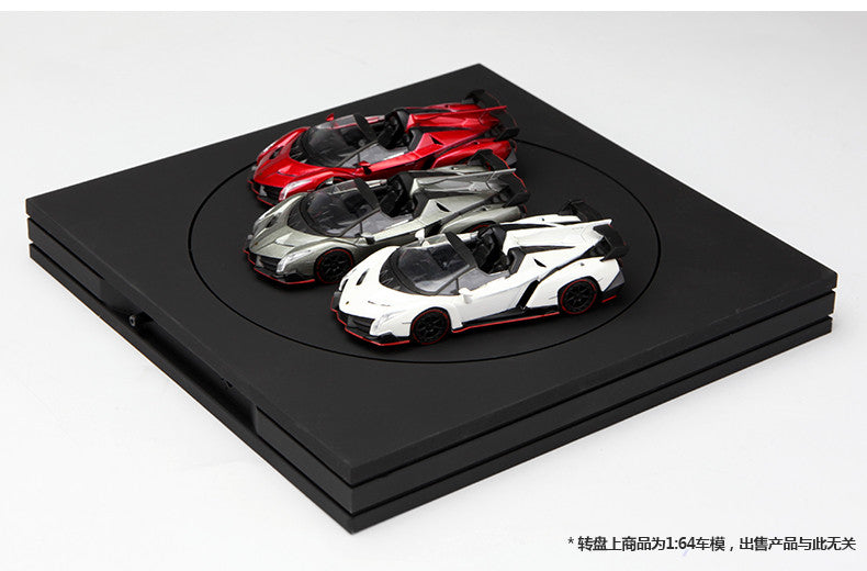 The Thinnest Square design Turntable for Diecast 130mm with USB Charge