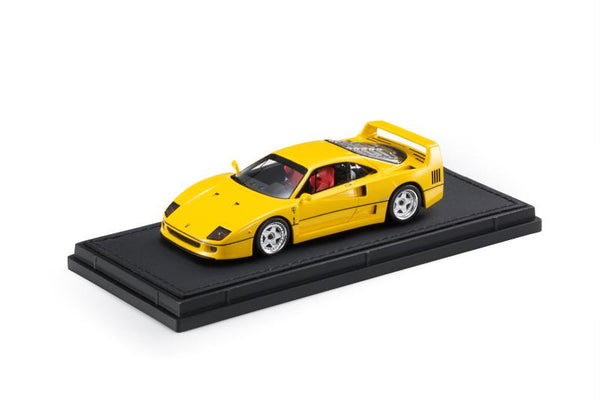 Top Marques 1:43 Ferrari F40  Yellow - Giallo Modena  (TM43-11B) Resin car model available on End of November 2020 Pre order now