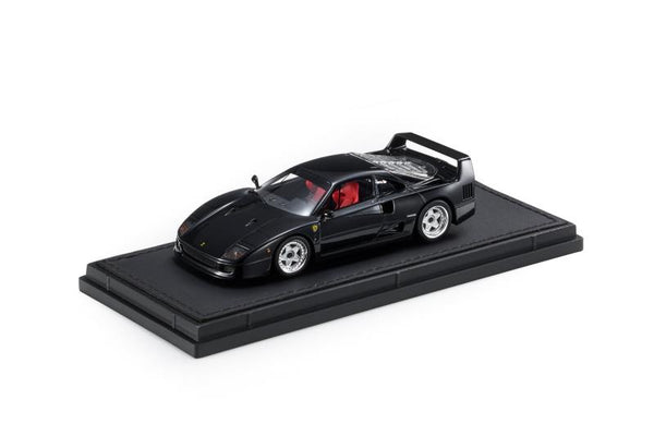 Top Marques 1:43 Ferrari F40 Black  (TM43-11C) Resin car model available on End of November 2020 Pre order now