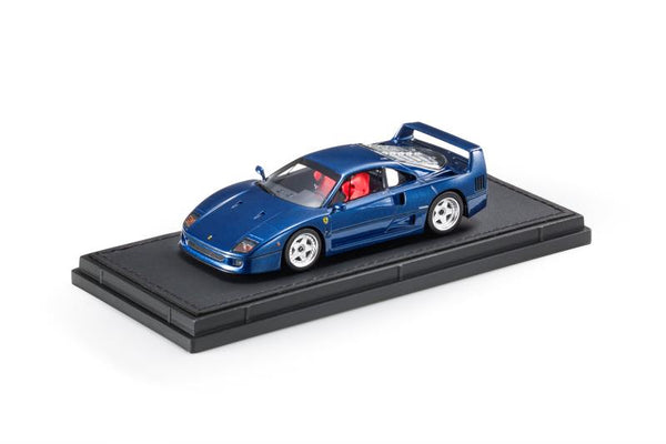 Top Marques 1:43 Ferrari F40 Blue  (TM43-11E) Resin car model available on End of November 2020 Pre order now